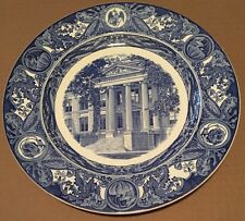 1933 University of Iowa Wedgwood First Edition Hall of Natural Science Plate