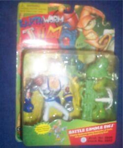 Earthworm Jim Battle Damage EWJ Playmates MOC 1994