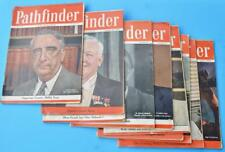 Pathfinder Magazine Lot Lucille Ball Jeep Willy Bing Crosby RR Greyhound Bus