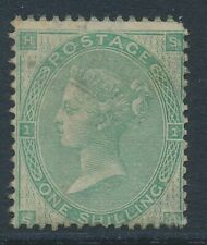 SG 90 1/- Green mounted mint CAT £3200