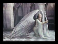3D Bild mit Engel - The Blessing - Anne Stokes Fantasy Druck Leinwand Poster
