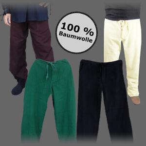 Mittelalter Hose - Freizeithose - 6 Größen - Freizeit Hose im Leinen Look Gewand