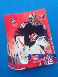 IIHF World Championship 2019 Team Canada (Full Set 25 cards)