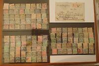 Briefmarken Ungarn, Hochwertiges Kaiser Wilhelm Adler voll Satz mit Brief Top x