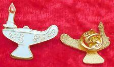 Nursing Graduation Lamp Nurse Graduate Lapel Pin Badge RN Medical Symbol Brooch