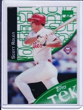 2000 Topps Tek GREEN PARALLEL #26-19 Scott Rolen Philadelphia Phillies RARE