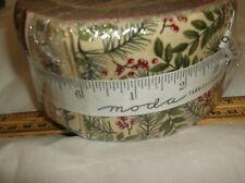 New listing sealed-Moda Fabrics-Winter Manor Jelly Roll-2.5 strips-Holly Taylor Christmas