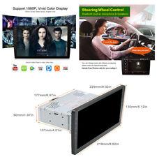 """1Din 9"""" Car Bluetooth GPS Wifi 3G/4G OBD Car Stereo Radio Head Unit Media Player"""