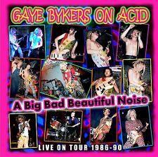 GAYE BYKERS ON ACID - A BIG BAD BEAUTIFUL NOIZE-LIVE 1986-90  CD NEU