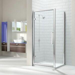Hinge Shower Door 800mm Merlyn 8 Series ML.M81211