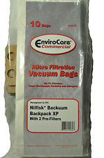 Nilfisk, Backuum Backpack XP Vacuum Bags ECC105