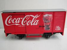 LGB G #45352 Coca-Cola Box Car with Sound