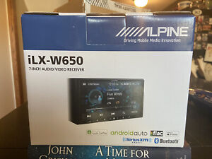 Alpine iLX-W650 Digital Media Receiver w/ Apple CarPlay & Android Auto