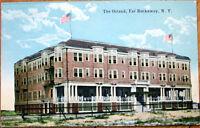 1910 Postcard: Ostend Hotel/Inn - Far Rockaway, New York NY