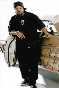 Ice Cube Autogramm signed 20x30 cm Bild