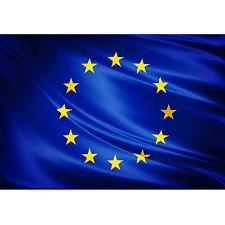 Drapeau UNION EUROPEENNE cm 90x140 en polyester avec lacets pour barre