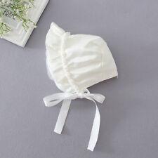 Girls Baby Newborn Lace Bowknot Flower Hat Cap Beanie Bonnet Birthday Christen