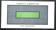 10th (Irish) Division  Gallipoli   World War 1 1914/18 Insignia Card