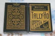 1 deck of Tally-Ho British Monarchy Playing Cards S102499-庚E5