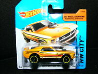 1970 Ford Mustang Mach 1 gelb Hot Wheels