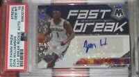 2019 Mosaic Fast Break Zion Williamson Rookie Auto PSA 10 Gem Mint RC Autograph