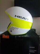 Head Stivot Race Helmet White/Lime M 56-57 cm