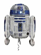 "Disney ""STAR WARS"" R2 D2 SuperShape 22 in x 26 in Foil Birthday Party Balloon"