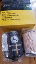 John Deere New SEALED OEM Fuel Filter RE525523 Contains both filters Box worn