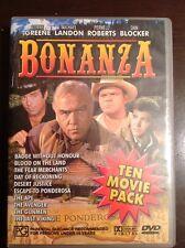 BONANZA 10 Movie Pack Lorne Greene Michael Langdon 4 New Unsealed DVDs