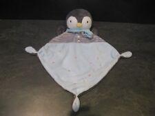 doudou pingouin gris bleu étoile mots d'enfants