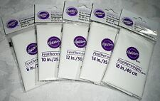 "Wilton Featherweight Cake Decorating Bags Lot of 5 Sizes 8"" - 16"""