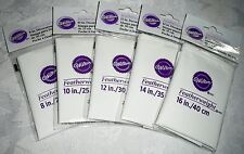 "Wilton Featherweight Cake Decorating Bags Lot of 5 - Sizes 8"" - 16"""