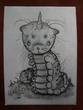 Dream Creature original published artwork by Aaron Bordner