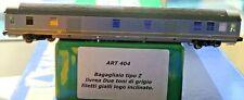 FRATIX ART 404 bagagliaio tipo Z livrea bigrigio filetti gialli FS Scala N 1/160