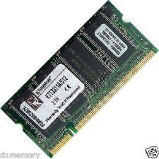 512 MB (1x512MB) DDR-266 PC2100 Laptop (SODIMM) MEMORIA RAM KIT 200-pin