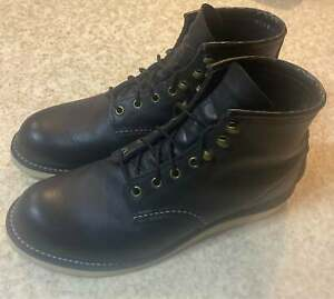 red wing boots size 8