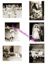 Dolls #2 - Photo Collage for Scrapbooking / Crafts / ATCs / ACEOs