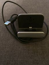 Belkin Charge and Sync Dock for iPhone Black 4ft Long USB Plug In F8J045