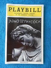 Juno And The Paycock - Gramercy Theatre Playbill - December 2000 - Norman Butz