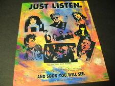Celine Dion Barney Benthall Cassandra Vasik Francis Martin 1992 Promo Poster Ad
