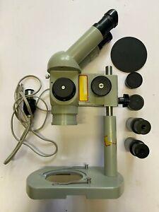 Carl Zeiss Jena Mikroskop SMXX STEREOMIKROSKOP DDR CZJ Labor