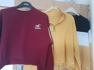 Hollister/Wild Fable  Clothes Bundle Size Small 3 tops and 1 pair trousers