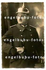 PORTRAIT-FOTO - PICKELHAUBE - BAYERN - Stadtpolizei - Wachtmeister - Regensburg