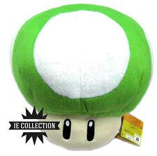 SUPER MARIO BROS. FUNGO VERDE GRANDE 30 CM pupazzo peluche green Mushroom 1up