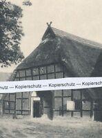 Stolzenau - Hof Wäsleringen - Bauernhaus - um 1935      J 7-3