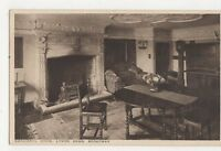 Cromwell Room Lygon Arms Broadway Worcester Vintage Postcard 307a