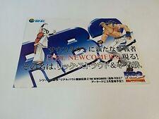 Real Bout Garou Densetsu 2 flyer / handbill SNK NEO GEO AES MVS JAPAN FATAL FURY