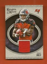 RONALD JONES II - 2018 Panini Knights of the Round Material Jersey RC Buccaneers