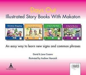 Days out Complete Series: Story Books with Makaton by Jane Cozens, David Cozens