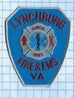 Fire Patch - Lynchburg Va 1883